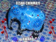 Eesha Chinmayi Award 2013