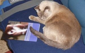 Nyla B readin Ku's book